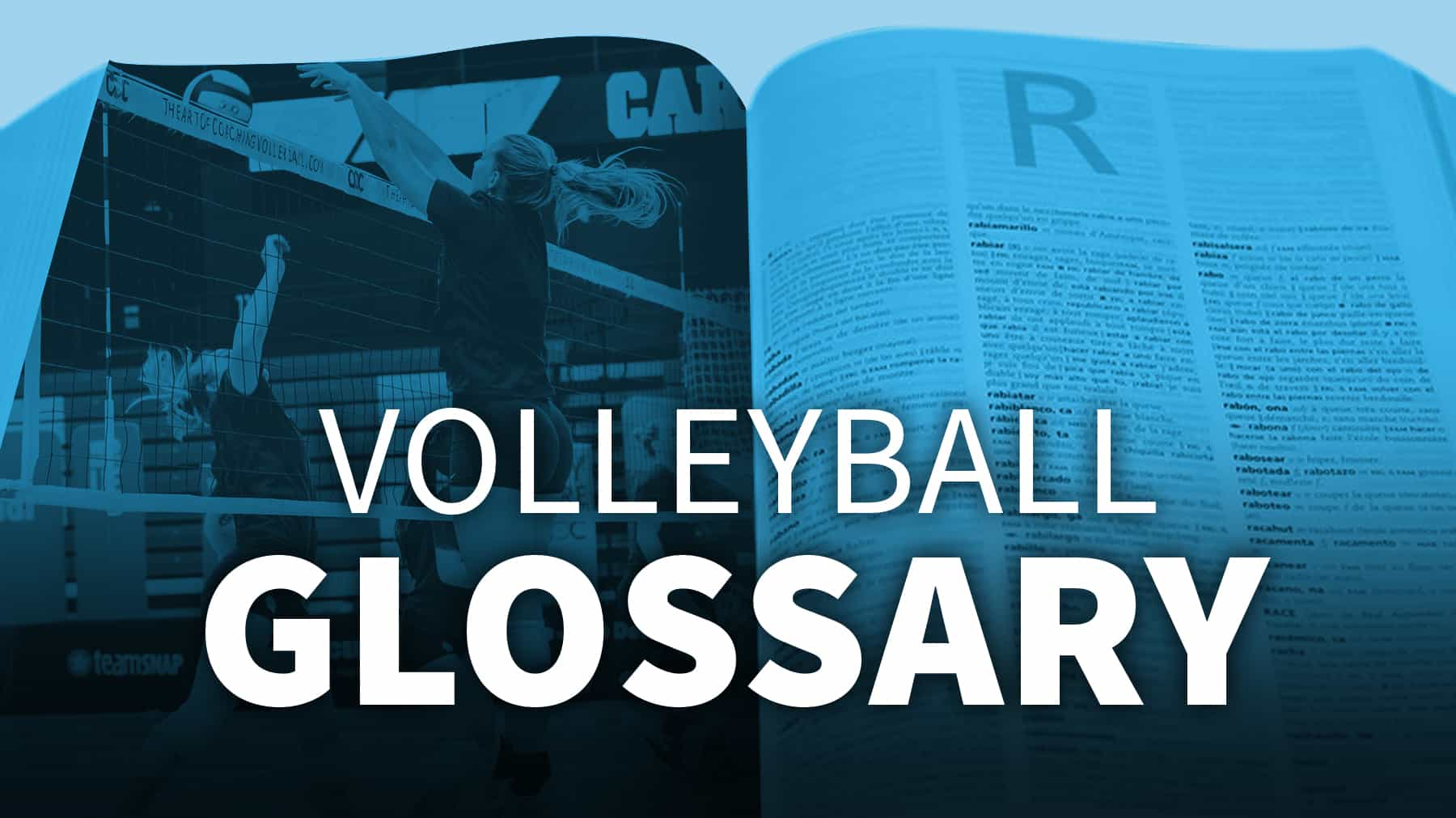 volleyball glossary - the art of coaching volleyball