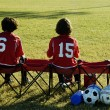 Kids on the bench