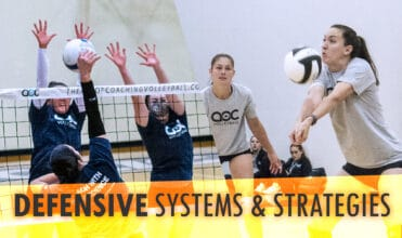 volleyball defensive systems