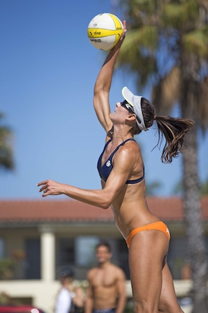 2012 AVP Championships - Pro Beach Volleyball - West Beach - Santa Barbara, California - September 7, 2012