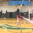 Volleyball Setter Dumping Technique