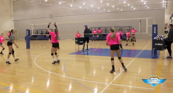 4 On 4 Dig-set Drill