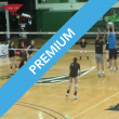 Volleyball hitting drill
