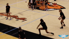 Serving and Passing Drill
