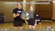 Jump Float Serve Fundamentals