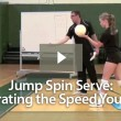Jump Spin Serve