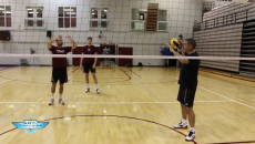 Men's Volleyball Setting Drill