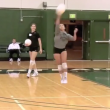 Jump Float Serve
