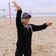 Holly McPeak Beach Volleyball Training