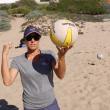 Holly McPeak beach training