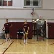 Jump serve technique