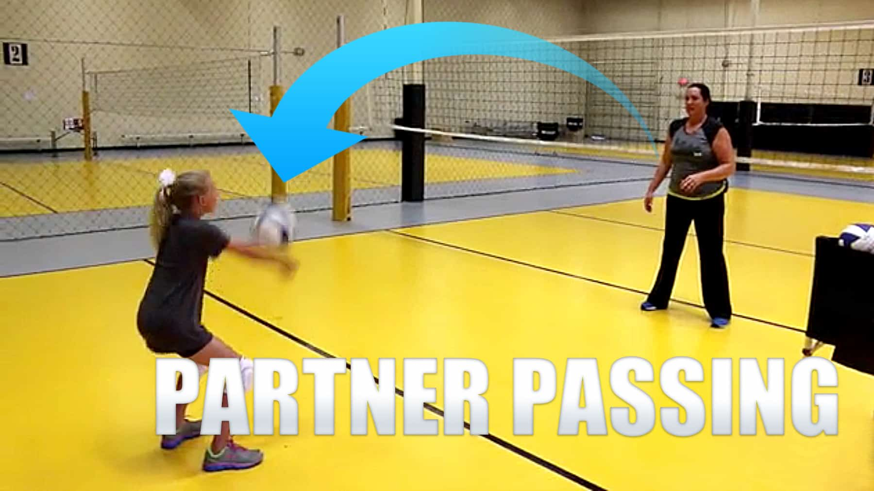Passing In Volleyball