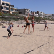 Holy McPeak beach volleyball training
