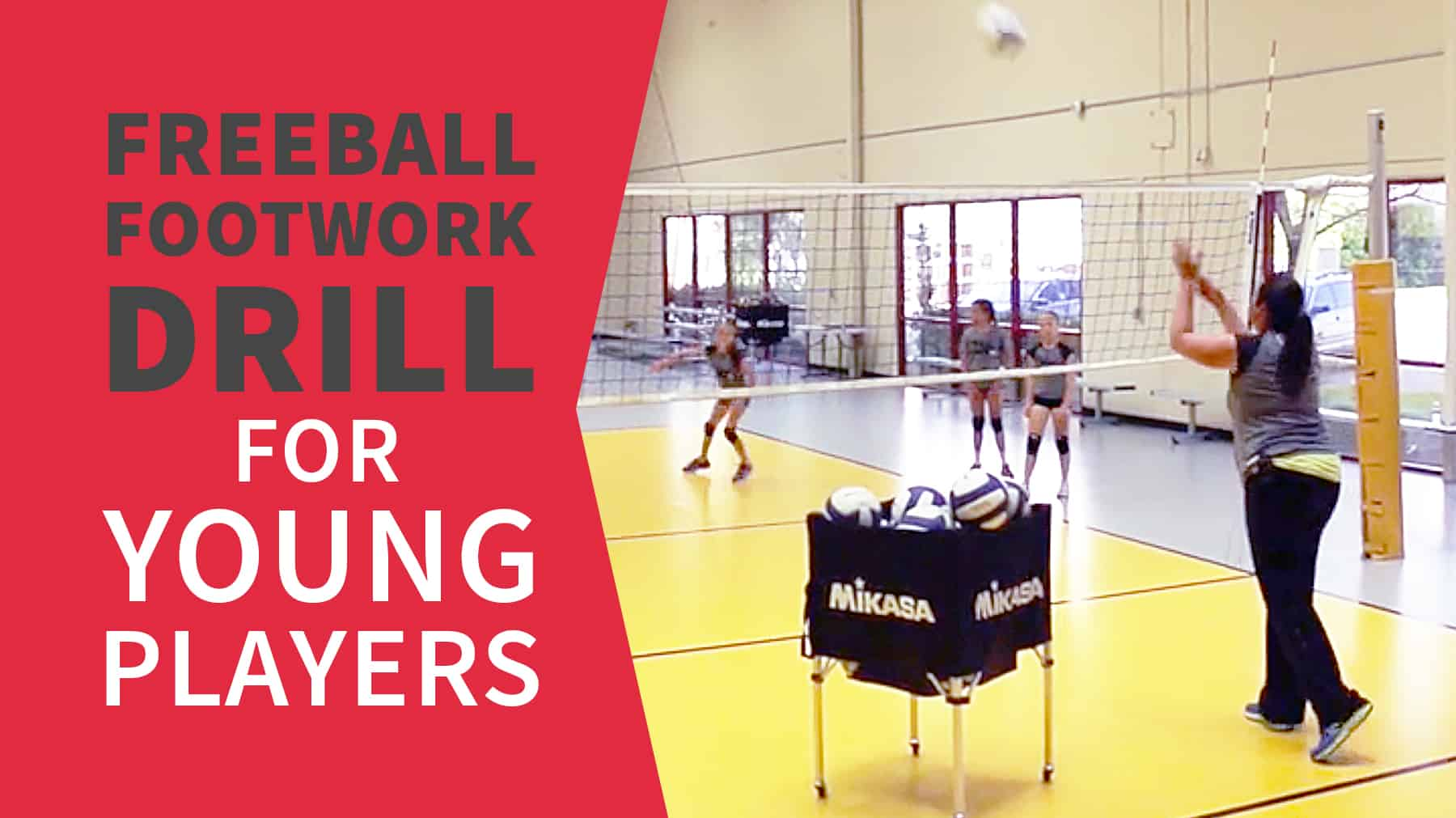 Freeball Footwork Drill For Young Players