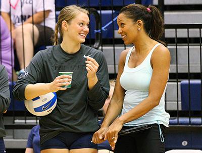 Salima Rockwell and Micha Hancock