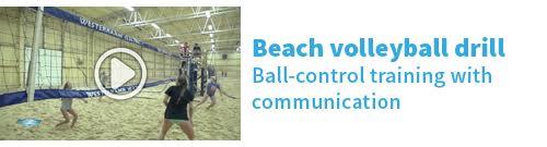 Beach ball control drill