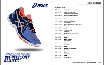 Asics in Clinic handbook