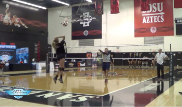 Karch Kiraly jump float