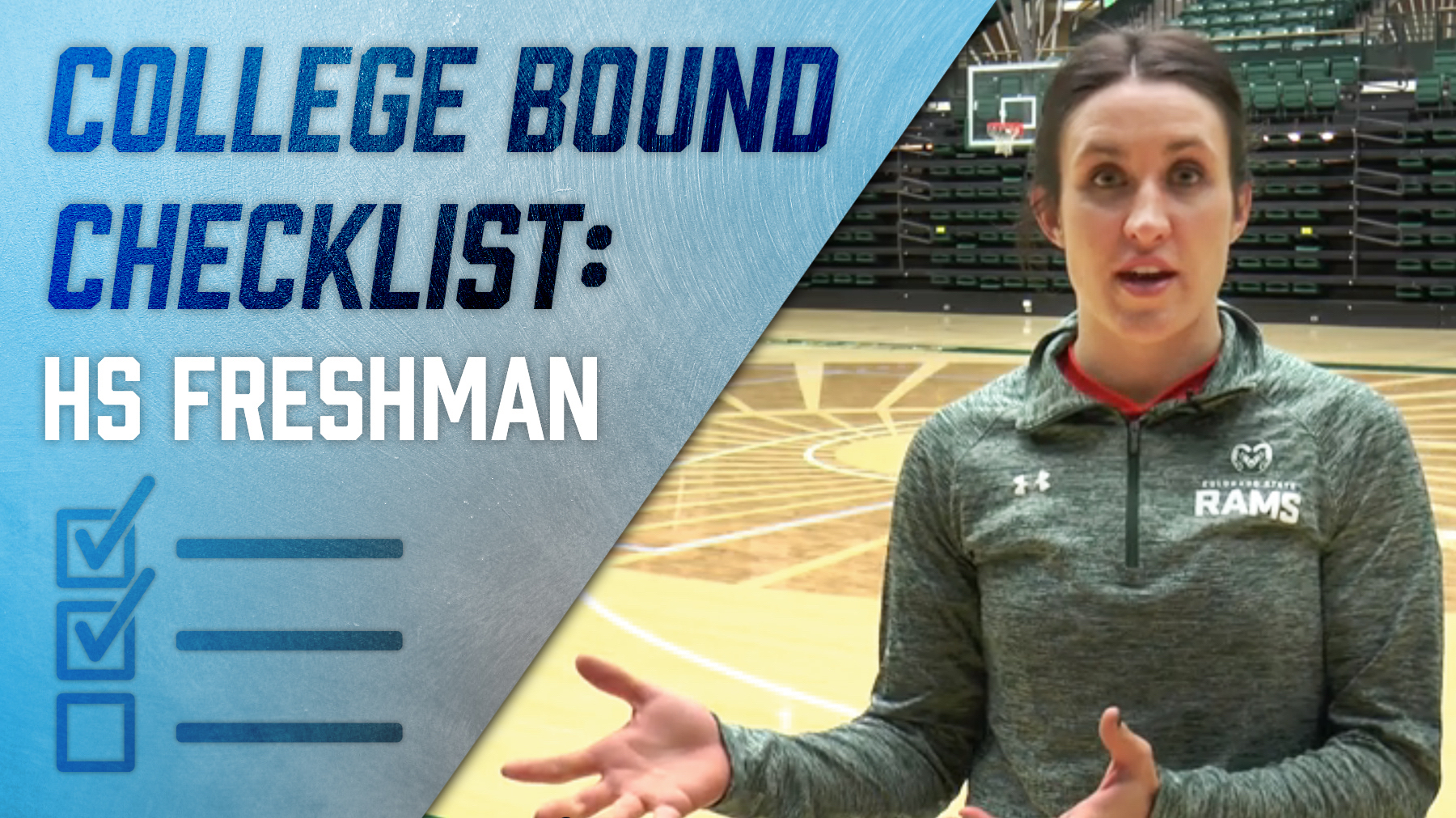 checklist for high school freshmen who want to play college volleyball