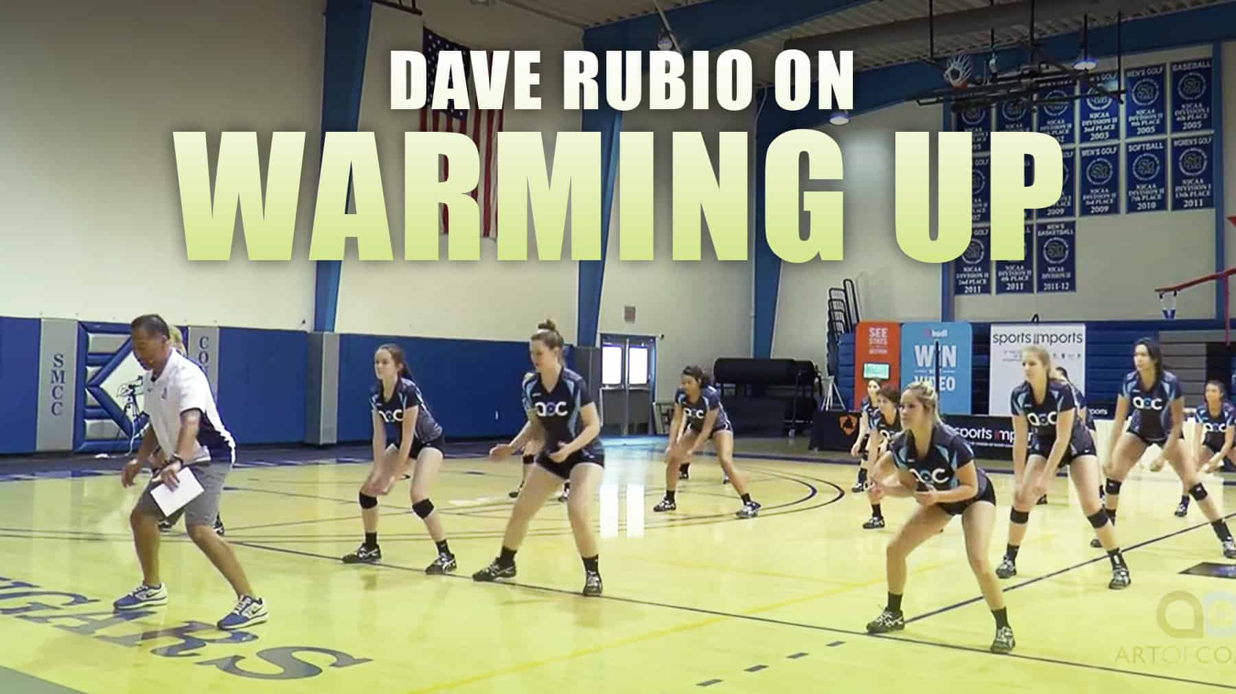 Dave Rubio On Warming Up