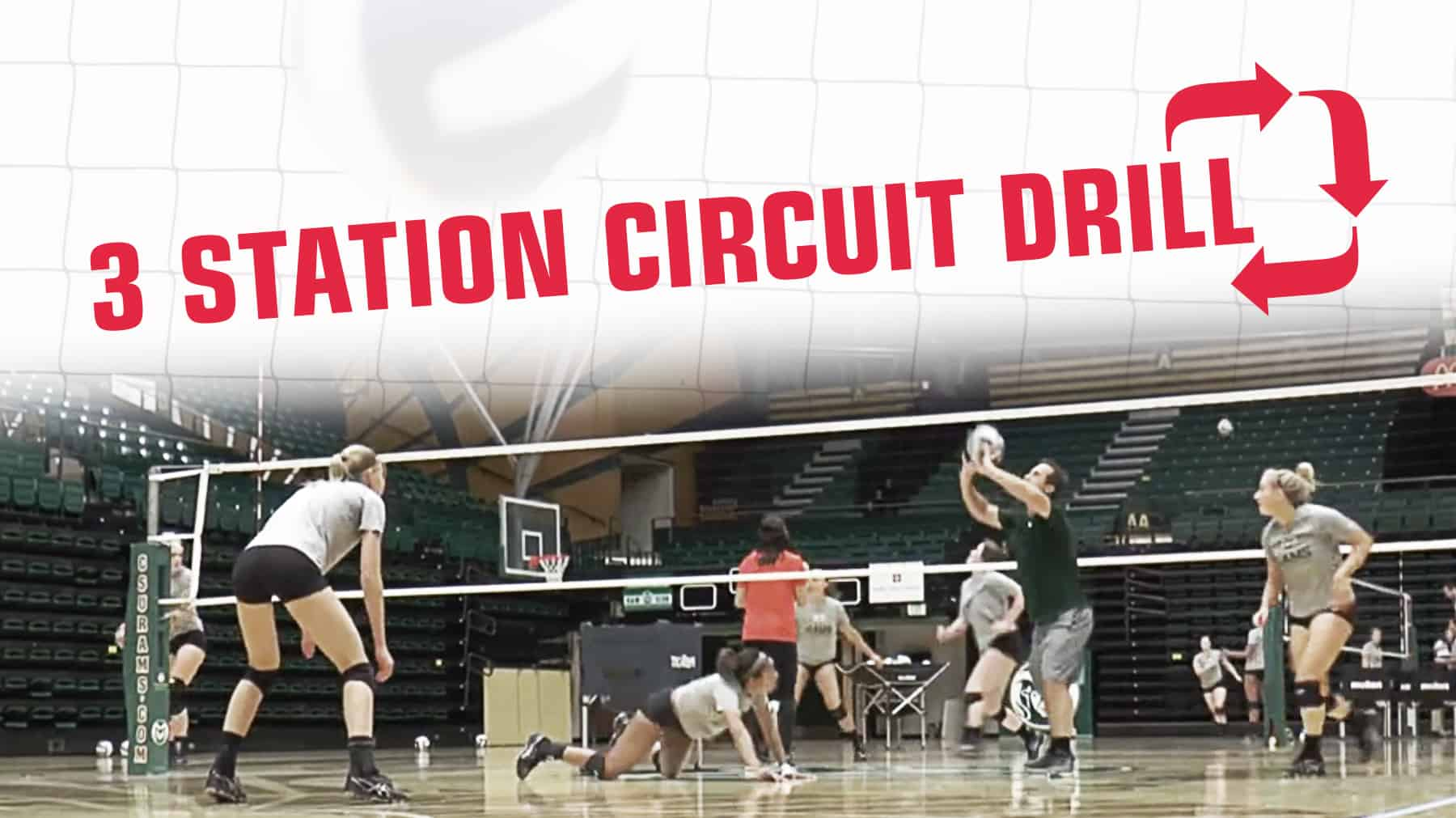 3 Station Circuit Drill Improves Defensive Play