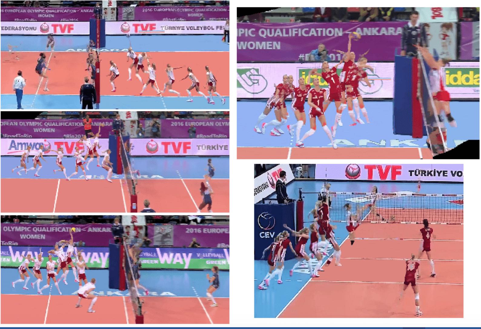 Anna Baranska Werblinska of Poland - 2-Step Attack Footwork Analysis