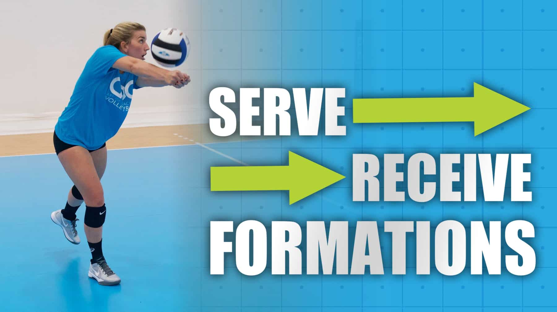 Training different serve-receive formations to assist in game planning