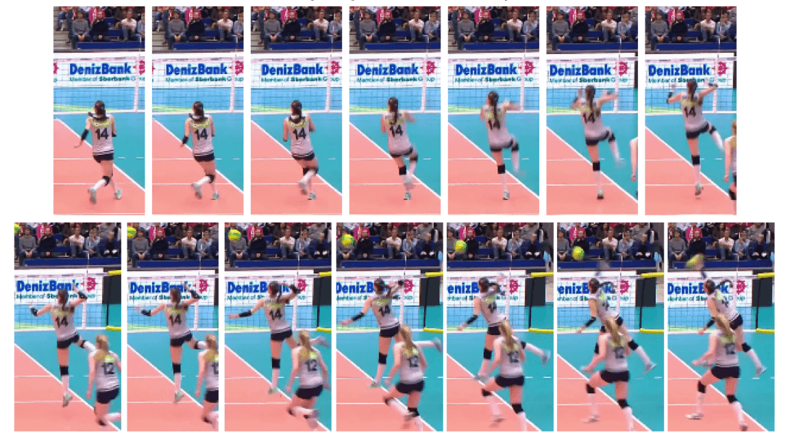 Eda Erdem Dündar of Turkey - Slide Knee Drive Analysis - Back View