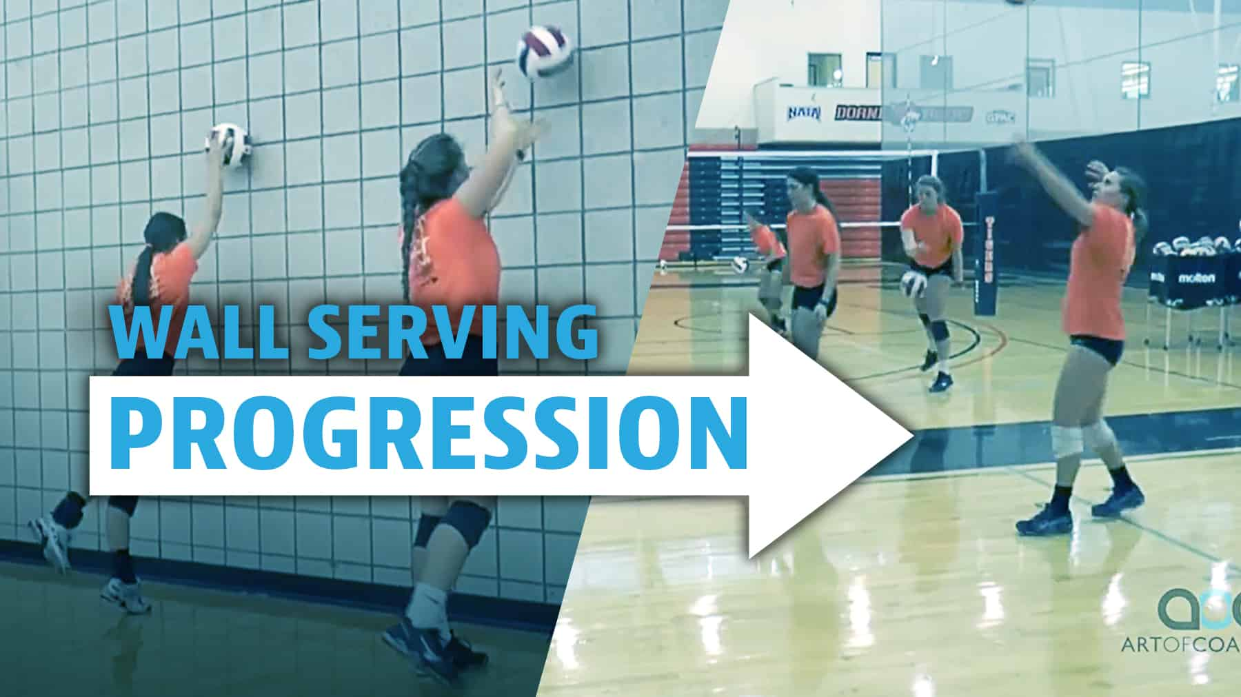 Wall Serving Progression