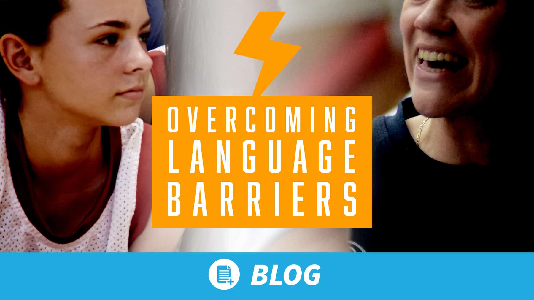 Overcoming the volleyball language barrier