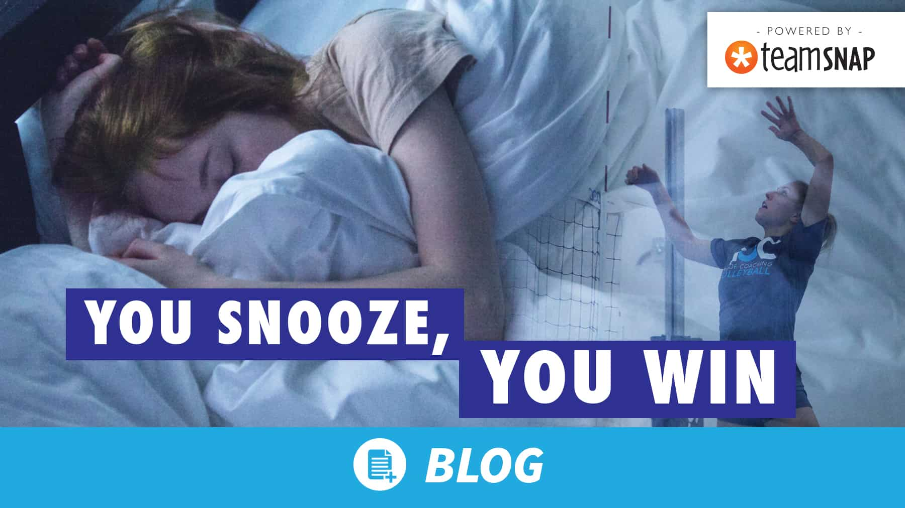You snooze, you win