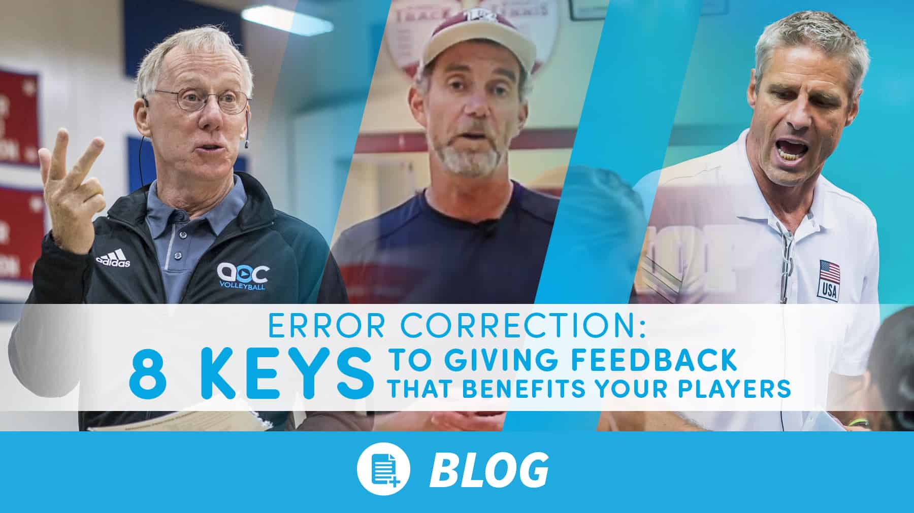 Error correction: 8 keys to giving feedback that benefits your players