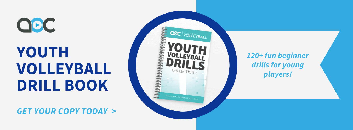 Youth volleyball drill book