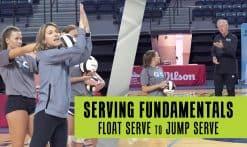 float serve