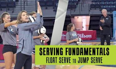 float serve