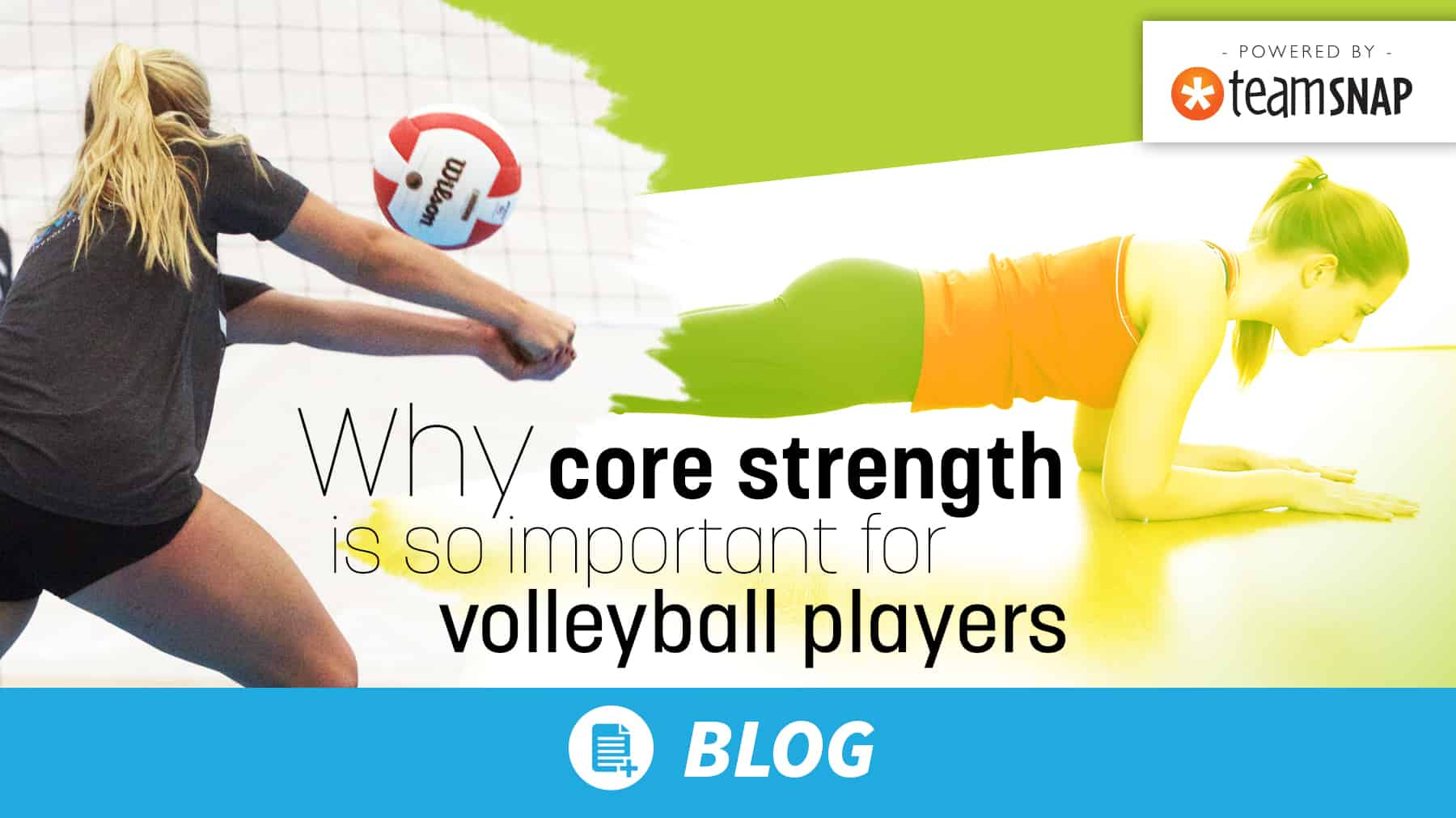 Why core strength is so important for volleyball players