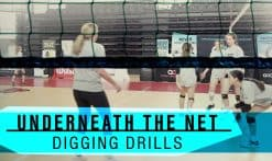 under the net