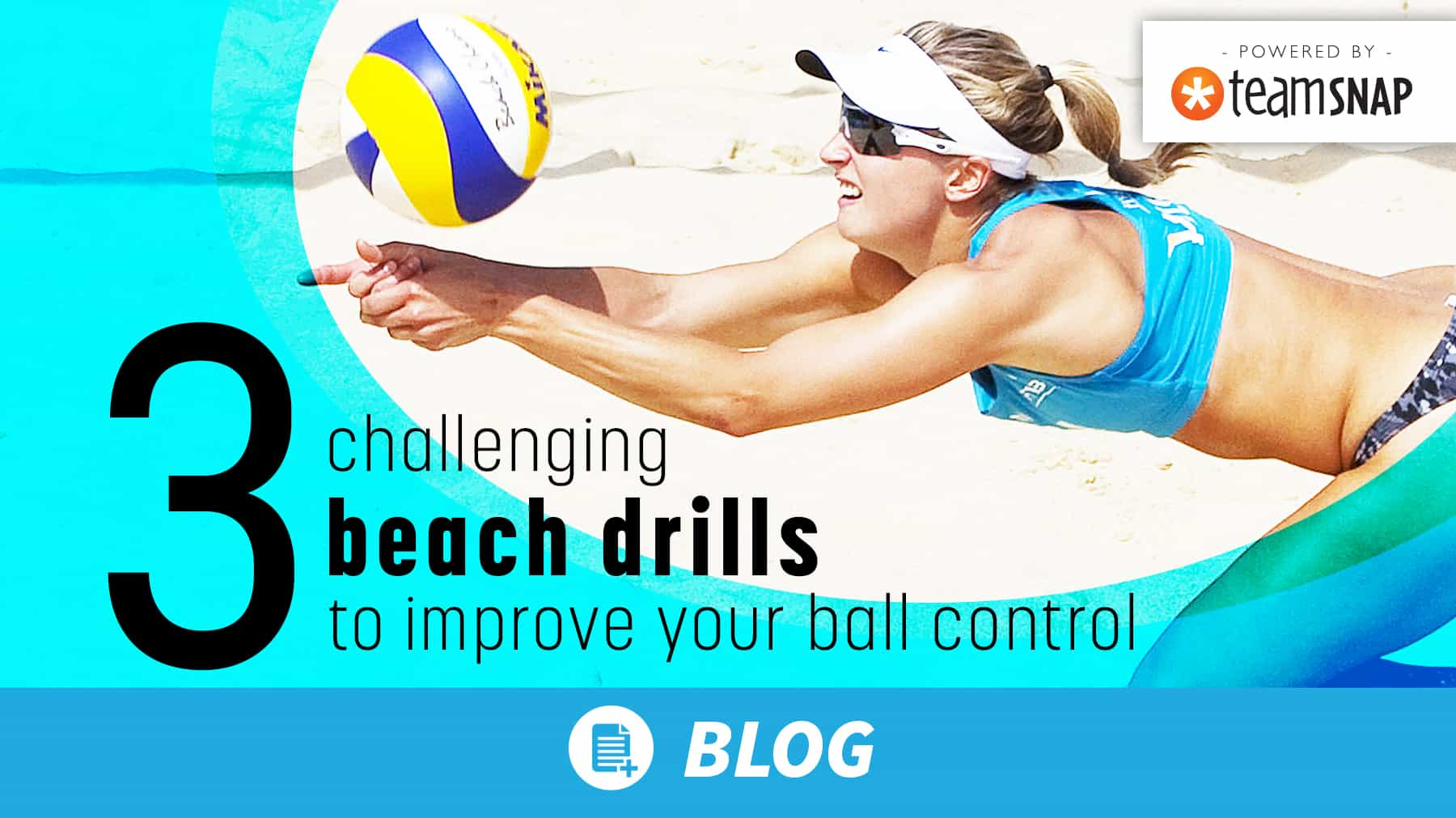 3 challenging beach drills to improve your ball control