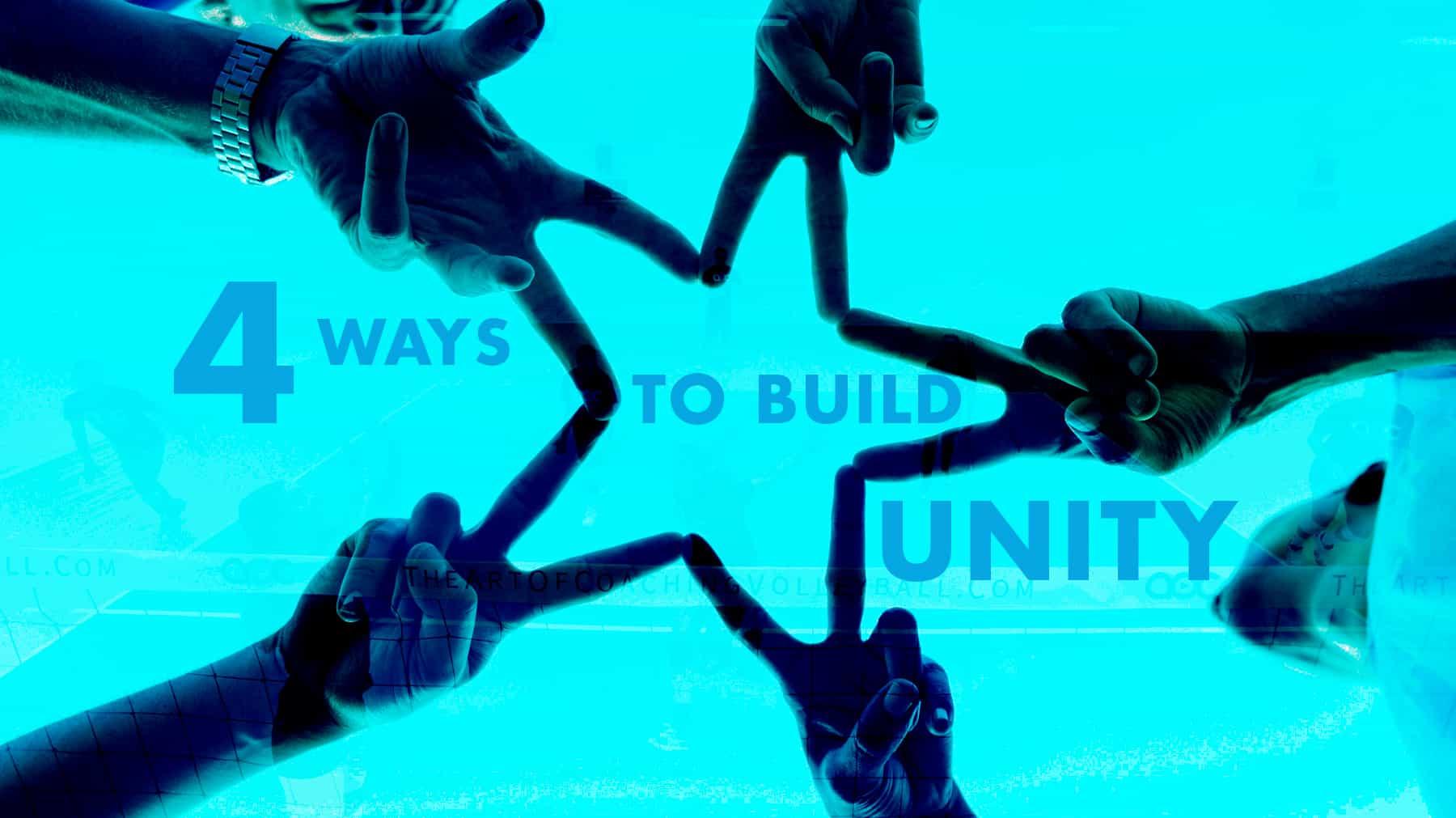 4 Ways to Build Unity