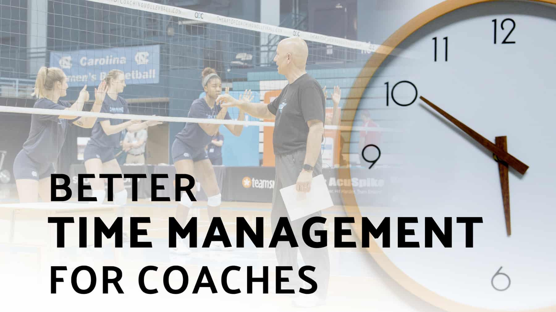Better time management for coaches