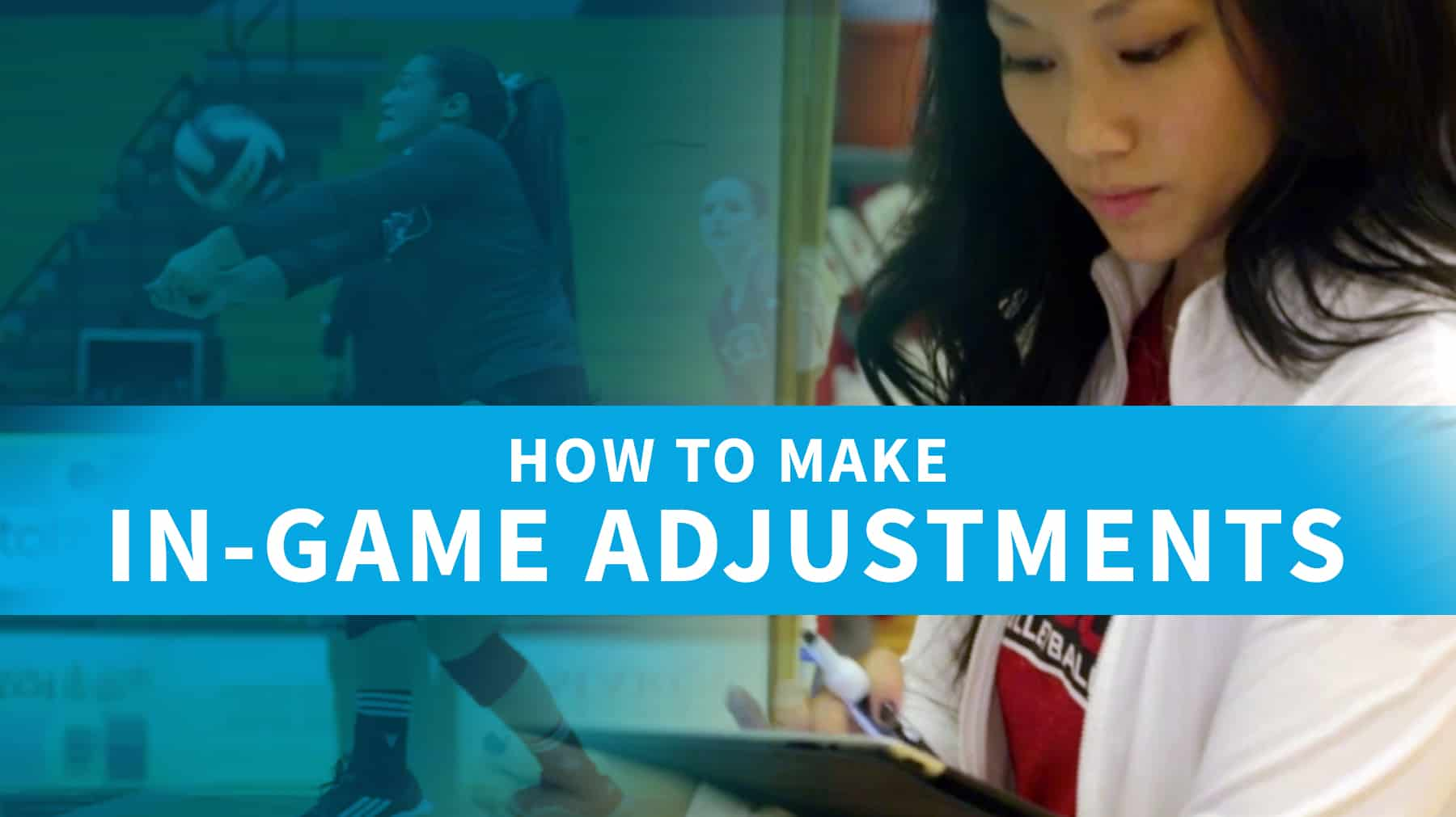 How to make in-game adjustments