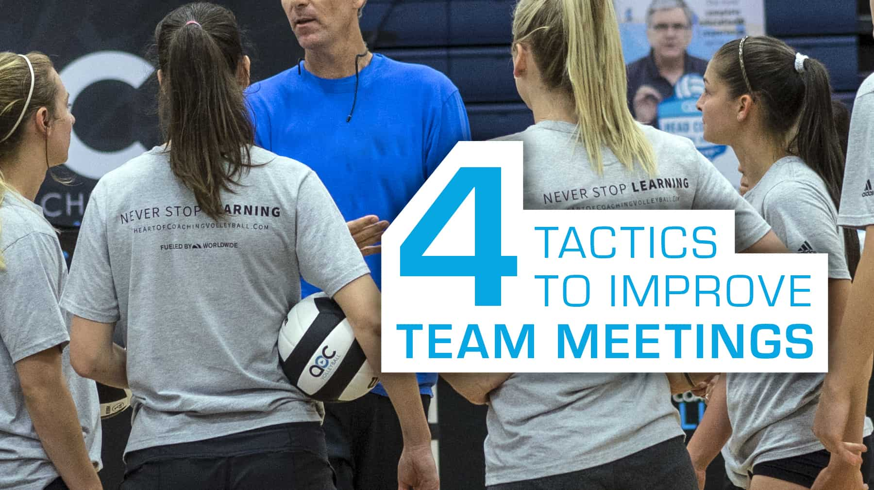 4 tactics to improve team meetings
