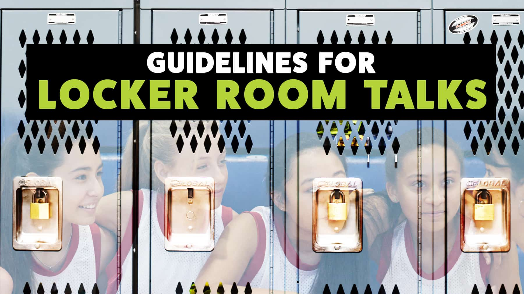 Guidelines for locker room talks