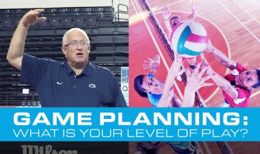 Volleyball game planning for your level
