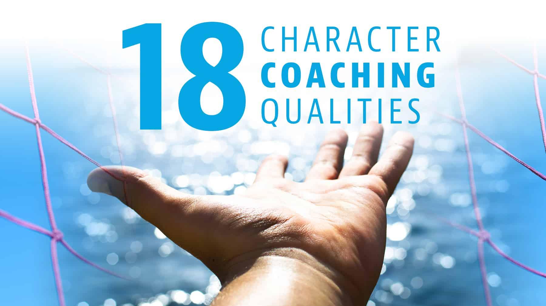 18 character coaching qualities