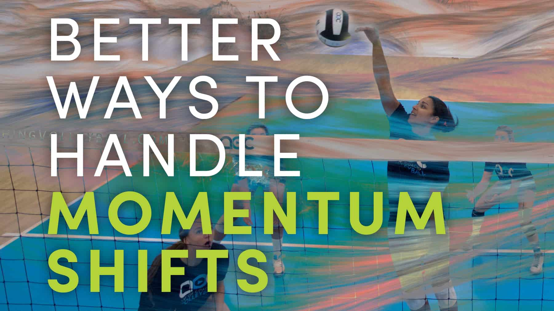 Better ways to handle momentum shifts