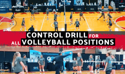 volleyball control drill