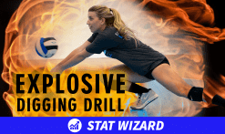 Explosive digging drill