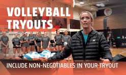 tryout non-negotiables