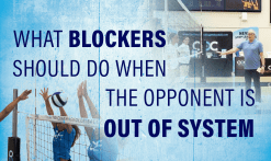 Blocking When Opponent is Out of System